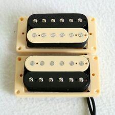 Zebra Les Paul Epiphone Electric Guitar Pickups Humbucker Set of 2 Dual Pickups