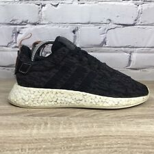 Adidas NMD R2 Sneakers Black Wonder Pink BY9314 - Women's Size 8