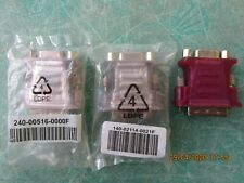 DVI to VGA adapters . DVI-I Dual Link. New . Free Shipping