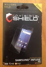 ZAGG Invisible Shield/ Screen Protector for Samsung Infuse 4G