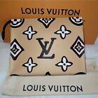 Louis Vuitton Wild At Heart Arizona Tan Monogram Canvas Toiletry Pouch 26 XL Bag