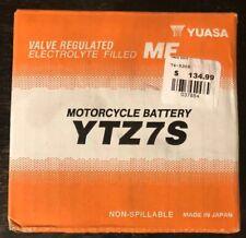 Yuasa Factory Activated Maintenance Free Battery YTZ7S YUAM727ZS