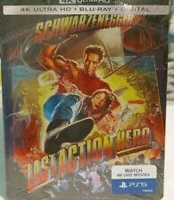 The Last Action Hero Steel book (4K UHD/Blu Ray/Digital) *BRAND NEW, SEALED*