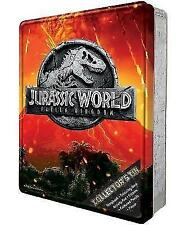 NEW Jurassic World Fallen Kingdom Dinosaurs Kids Happy Tin Activity Gift Set!