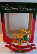 Vintage Santa's Best Collection First Edition A Rocking Good Reindeer 1991