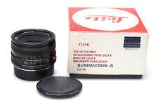 Leica summicron-R 50mm f2 e55 11216