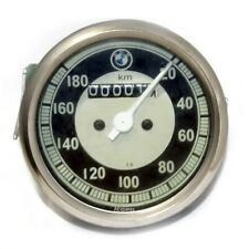 Black & Cream Face Speedometer 20-180 / 0 -180 Kmph Fits BMW Motorcycle S2u
