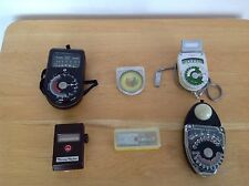 Vintage Exposure Meter, Filter & Timer Lot - Hansa, Walz, Norwood, Alpex ++ 7A