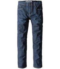 Indigo, Dark wash Classic Fit, Straight 28L Jeans for Men