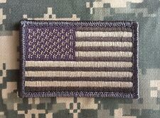 USA AMERICAN FLAG TACTICAL US ARMY MORALE MILITARY BADGE ACU LIGHT HOOK PATCH