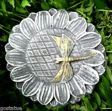 Dragonfly on flower mold plastic casting mould