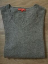Pull pur cachemire gris taille L