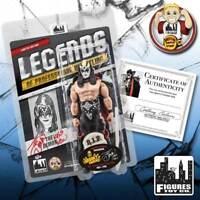 Legends of Wrestling Figures: The Demon KISS Autographed Spooky Empire Exclusive
