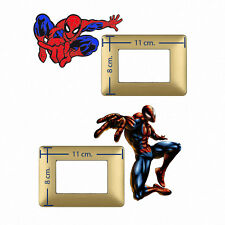 Adesivi Murali interruttori uomo ragno spiderman wall decal light switch 2 pz.