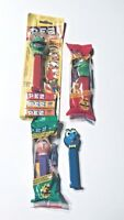 Muppets Pez Candy Lot Dispensers Kermit Frog Miss Piggy Gonzo Retired