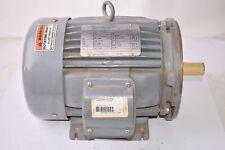 Sterling Electric J0052ffa 5 Hp 203 230v460 136 12563 3 Phase 60 Hz Indu