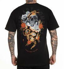 Sullen Art Co Protection Skull Snake Tattoo Artist Black T Shirt M-3XL UK