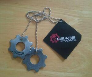 Gears of War Replica Metal Cog Tags (2016) - New & Unused (Dog Tags)