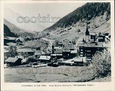 1975 Niederwald in The Goms Switzerland Press Photo