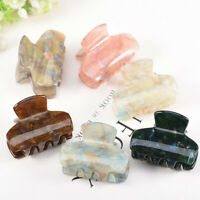 Hair Claw Clips Barrette Clamp Acrylic Ponytail Crab Hairpin Hair Accessories UK