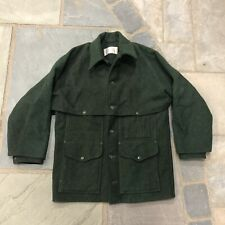 Vintage Filson Mackinaw Wool Cruiser Jacket Coat Forest Green Men's Fits M/L