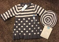 Children's Place Size 3-6 Months Infant Girls Dress Hat And Tights