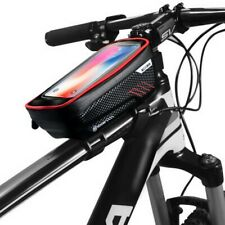 """Borsa telaio bici supporto sport outdoor MTB ciclismo porta cellulare fino a 6"""""""