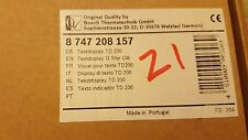 Worcester - TEXT DISPLAY TD 200 G STAR CDI - 87472081570 - New 8747208157
