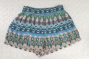 Jessica Simpson Small Women Juniors Island Izzy Soft Shorts Loose Fit ()