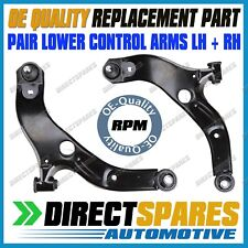 PAIR Mazda 323 BJ Astina Protege 1999-2003 Front Lower Control Arm & Bush LH+RH