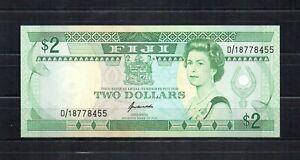 FIJI Fidji Billet de 2 Dollars Non-daté (1995) PK N° 90a NEUF UNC .