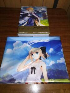 Return to AVALON Takashi Takeuchi Fate ART WORKS w/Wall scroll