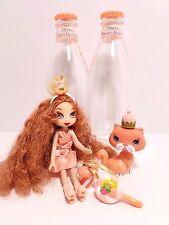 Yummi Land Smoothie Pop Doll Scented Penny Peach Perfect Mandy Mango Pet TM MGA