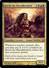 Foil KRESH THE BLOODBRAIDED From the Vault: Legends MTG Gold Creature Rare