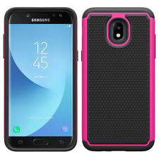 Hybrid Shockproof Case Rugged Phone Cover Fr Samsung Galaxy J3 2018/Aura/Achieve