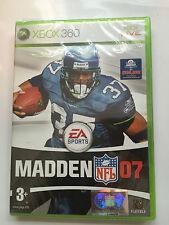 Madden 07 Nfl Juego Para Xbox 360 (nuevo Y Sellado)