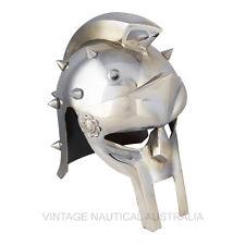 Vintage Nautical Mini Medieval Helmet Armor Maximus Gladiator Decimus Gift Decor