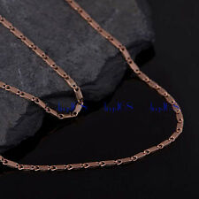 18K Yellow Gold Filled Miami Curb Link 1.8MM wide 18~20 INCH Necklace Chain H1E