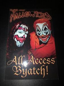 INSANE CLOWN POSSE ICP 9th ANNUAL HALLOWICKED ALL ACCESS PASS RARE 2002
