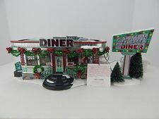 Dept 56 The Original Snow Village Shelly's Diner #55008 Never Displayed