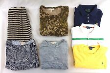Michael Kors Ralph Lauren Lot of 7 Women's Polo Shirts/Blouses, Skirt XL CH15267