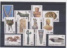 P9 CYPRUS 1983 ART MI.587-598 MNH