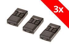 3 Cardin Handsender S466 TX2 S466-TX2 27,195 Mhz 2-Befehl TRQ466200 Funksender