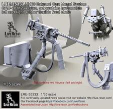 Live Resin 1/35 Uh60 External Gun Mount System Gau-18 M2 Version Set