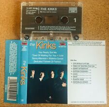 The Kinks..1991 Hits Compilation CASSETTE TC MFP 5921 (All The Great Songs!)