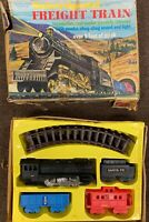Freight Train Battery Operated Durham Industries NY No. 8801 Made in Japan VTG