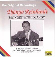 Django Reinhardt French Gypsy jazz guitar CD 18 tracks Stephane Grappelli violin