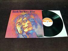 "TEN YEARS AFTER ""SSSSH."" LP 1ST GERMAN PRESS GATEFOLD DERAM 1969 HARD BLUES ROCK"