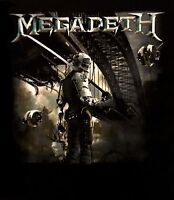 MEGADETH cd cvr DYSTOPIA ALBUM Official SHIRT Size MED new