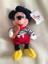Disney Soft Toy Beanie - French Mickey